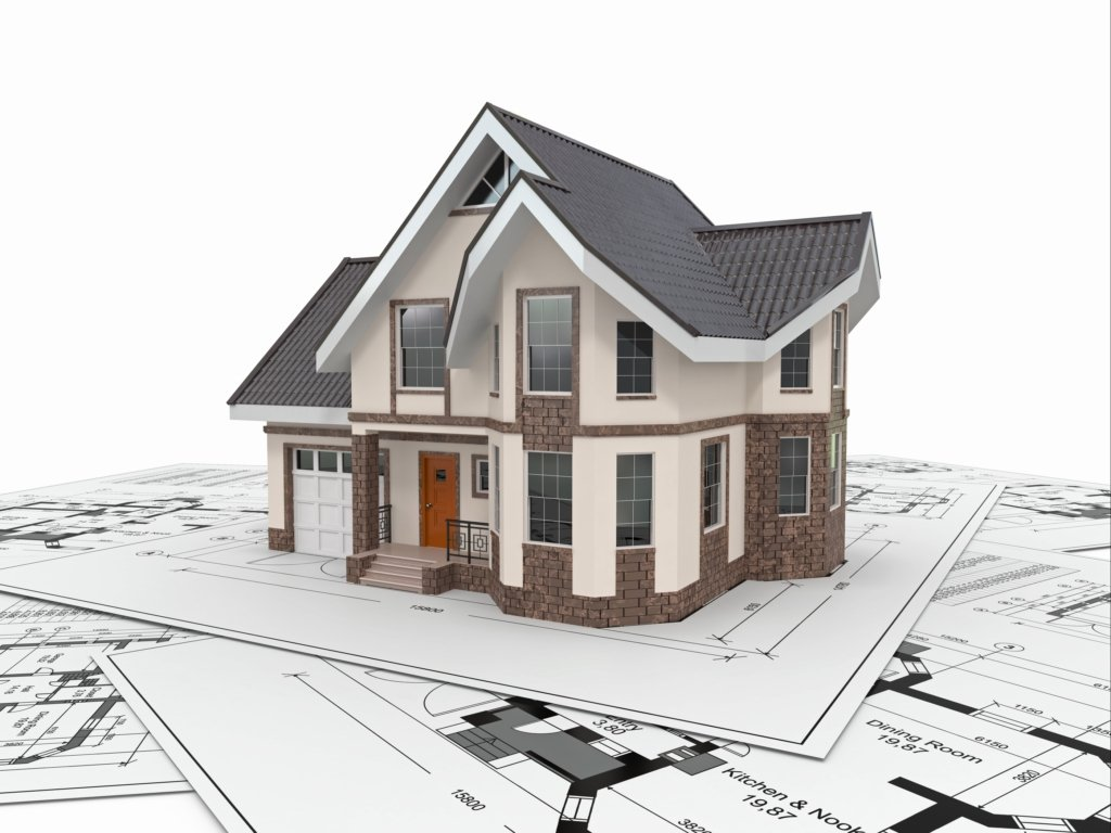 House replica with homeowners insurance in Texas